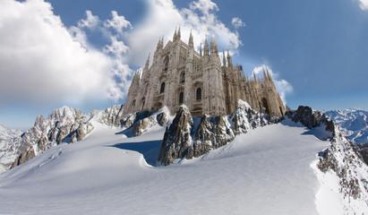 Duomo Milano era glaciale