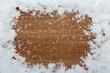Grußkarte Hintergrund Winter