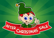 After Christmas Sale Banner / Elf