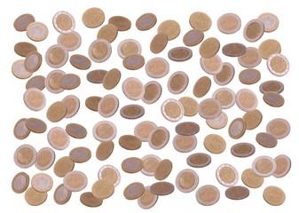 rain of european coin