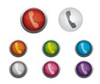 Glossy Call Buttons