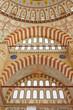 Interior view of Selimiye Mosque, Edirne, Turkey