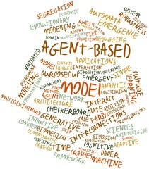 Word cloud for Agent-based model