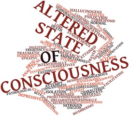 Word cloud for Altered state of consciousness