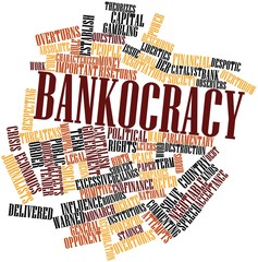 Word cloud for Bankocracy