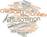 Word cloud for Cardiopulmonary resuscitation poster