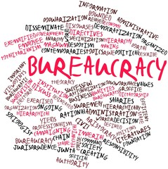 Word cloud for Bureaucracy