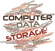 Word cloud for Computer data storage