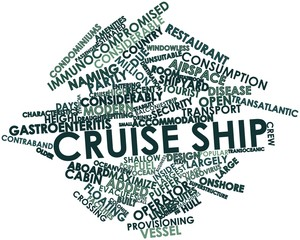 Word cloud for Cruise ship