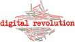 Word cloud for Digital Revolution