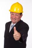 erfolgreicher Bauleiter