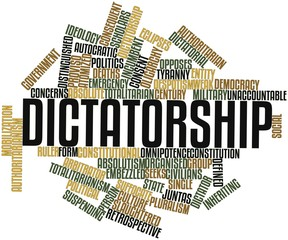 Word cloud for Dictatorship