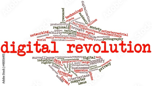 Word cloud for Digital Revolution