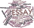 Word cloud for Essay