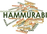 Word cloud for Hammurabi