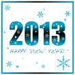 Happy New Year 2013 (Blue Version)