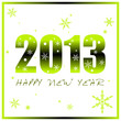 Happy New Year 2013 (Green Version)