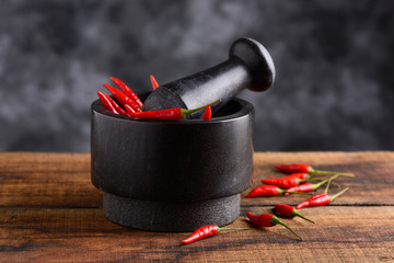 peperoncino piccante -  red hot chili pepper