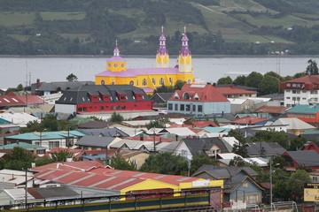 Castro on Chiloe Island, Chile