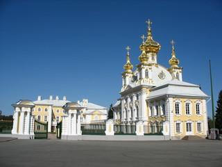 Schloss  Peterhof, St.Petersburg, Russland