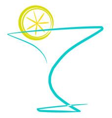 Cocktail con limón