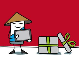 Tablette tactile offerte en cadeau