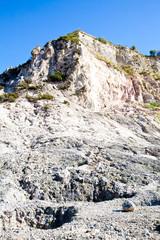 Solfatara - volcanic crater