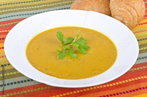 Curry Sweet Potato Soup