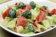 Garden Salad with Dressing Vegan Mayo