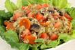 Quinoa Salad Closeup