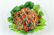 Quinoa Salad Overhead View