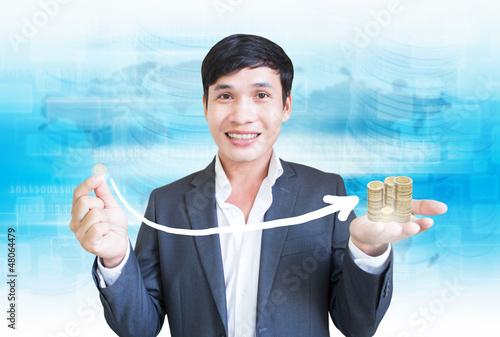 Money Investment Concept