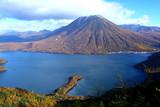 Fototapety Mt. Nantai and Lake Chuzenji in Nikko, Japan