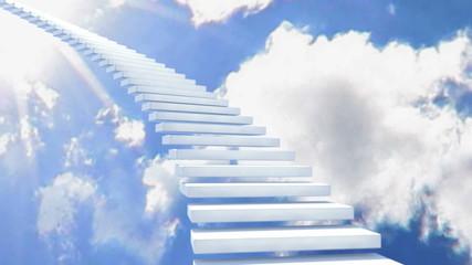 stairway white 01