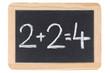 Mathematik auf einer Tafel