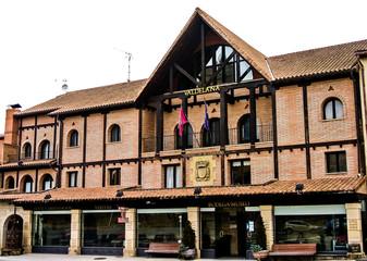 Edificio en Elciego (Álava, España)