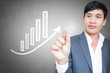 Asian Businessman With Investment Concept And Ideas