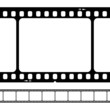 blank 35mm film strip
