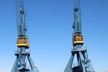 Krane Stadthafen Rostock