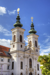 Mariahilfer church in Graz, Austria
