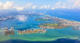 aerial of coastline Miami - 48070836