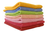 a few coloured towels