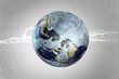 Frozen globe - 48071084