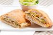 Italian ciabatta panini sandwich chicken