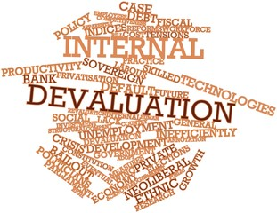 Word cloud for Internal devaluation