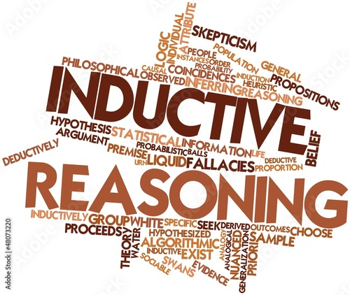 Word cloud for Inductive reasoning