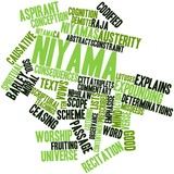 Word cloud for Niyama