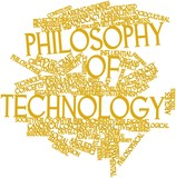 Word cloud for Philosophy of technology poster