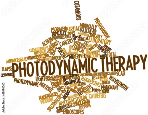 Word cloud for Photodynamic therapy