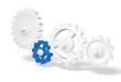 Zahnrad Konzept - Blue Leader 2